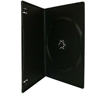 Digital Media Packaging DVD Single Black Slim