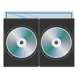 Digital Media Packaging DVD Slim Double 7MM