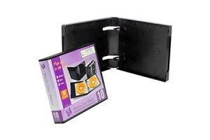 Digital Media Packaging Empty UniKeep 10 CD DVD Wallet
