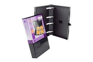 Digital Media Packaging Empty UniKeep 40 CD DVD Wallet