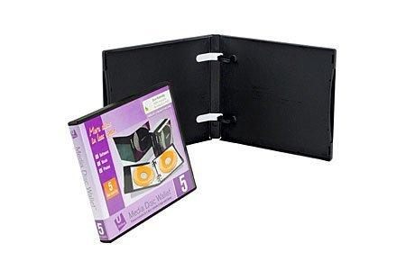 Digital Media Packaging Empty UniKeep 5 CD DVD Wallet
