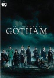 GOTHAM - COMPLETE SERIES (26 DISCS)